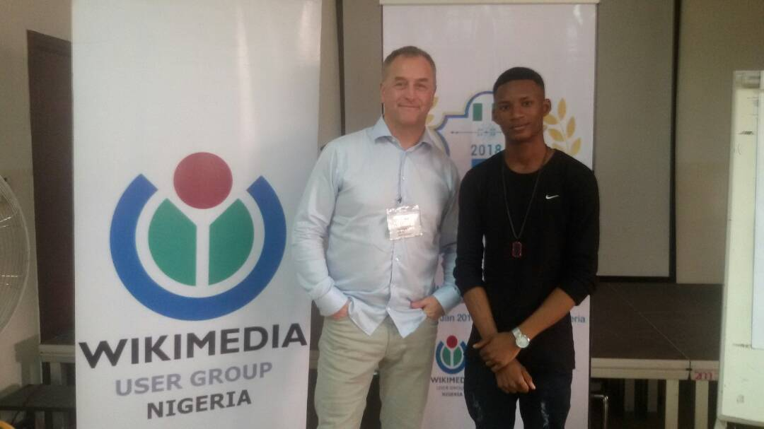Runner up in WikiMaster Nigeria 2018