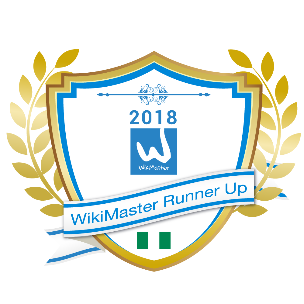 WM WikiMaster runner up 180208