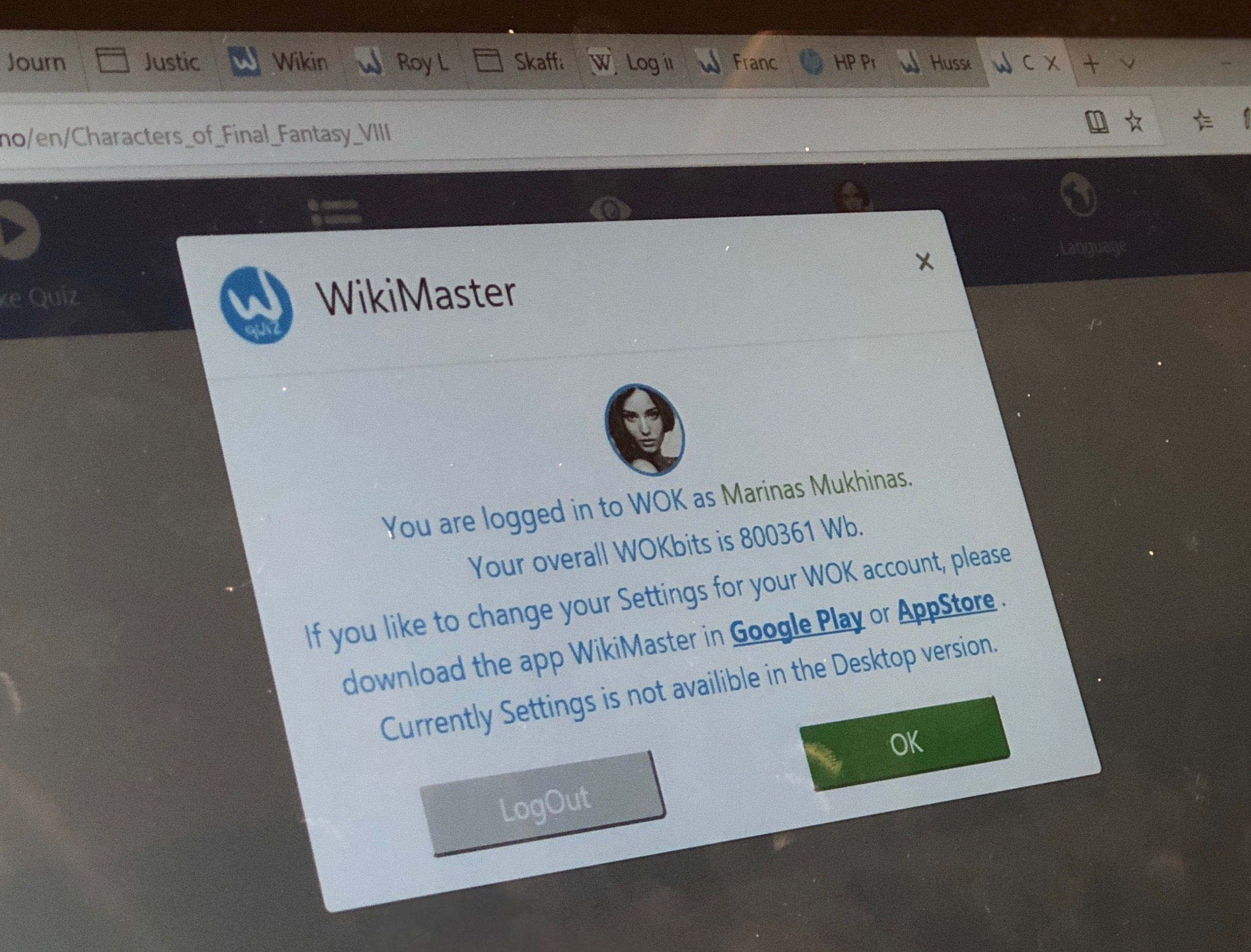 Wikimaster - WikiMaster softlaunches web version with quiz